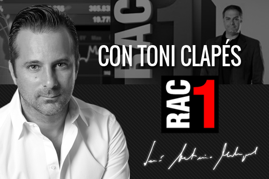Jose Antonio Madrigal con toni clapes RAC1