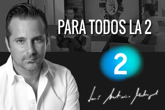 Entrevista Jose Antonio Madrigal para todos la 2 TVE