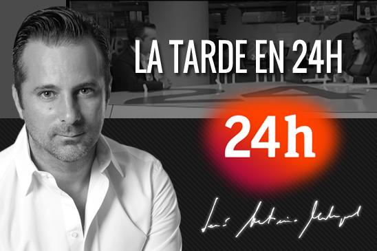 Entrevista Jose Antonio Madrigal en programa la tarde en 24h